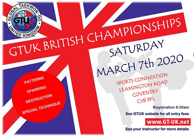 GTUK Taekwondo Tournament