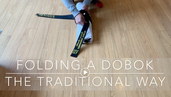 Folding Your Dobok