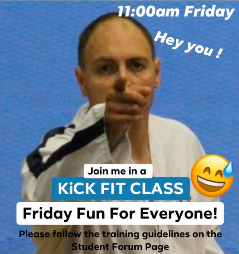 Taekwondo Exercise Class